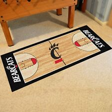 "Cincinnati Bearcats 30"" X 72"" Basketball Court Runner Area Rug"