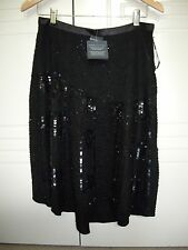 Jag BNWT Sequin Skirt Size 8 ( Black ) $ 199
