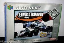 F-1 WORLD GRAND PRIX USED N64 ED PAL PLAYERS CHOICE MANUALE MANCANTE FR1 30765