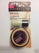 Maybelline Mineral Power Illuminator Powder Peach #625 NEW.