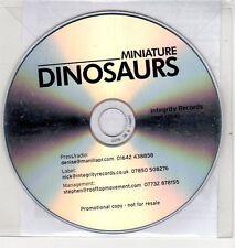 (EH933) Miniature Dinosaurs, Lemonade - DJ CD