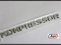 Kompressor Chrome Badge Emblem CLK SLK SL CLS ML GL A B C E S Class Mercedes