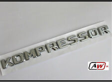 Kompressor Chrome Badge Emblema CLK SLK SL CLS ML GL A B C E S Classe Mercedes