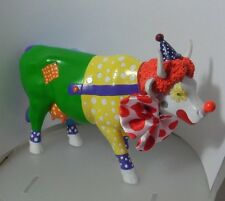"""COW! ON PARADE-PUT A CLOWN IN YOUR LIFE! BY ERICK CALDERON ACUNA""  S47770  G/B"