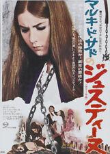 Jess Franco's Marquis de Sade Justine movie poster print 2