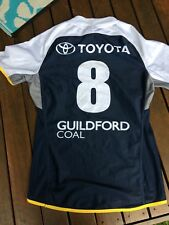 North  Queensland Cowboys Game  Issue Players Cut Jersey Holden Cup Xx