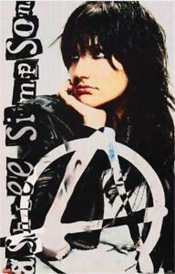 Ashlee Simpson Anarchy 2005 Rare  Poster