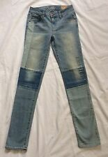 NWT American Eagle Skinny Jeans/  Light Wash- Size 0