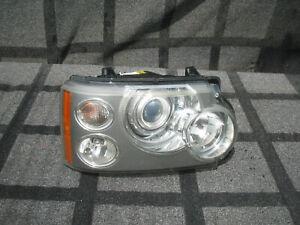 LAND ROVER RANGE ROVER HEAD LIGHT LAMP XENON AFS OEM 2006 2007 2008 2009