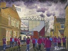 Burnley FC Turf Moor Stadium High Quality Framed Art Print. Approx 10''x 8''