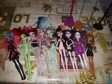 Mattel Monster High Lot 9 Poupées
