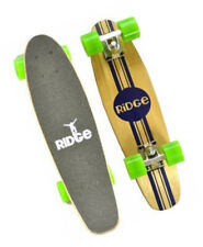 Complete 55cm Maple Wooden Retro 22? Mini Cruiser Board by Ridge Skateboards