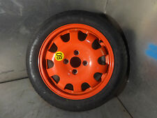 Ford Focus ST170 Mk2 Mk1 97-05 Genuine space saver spare wheel with tyre red