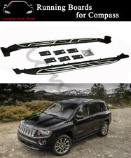 Fits for Jeep Compass 2011-2016 Side Step Running Board Nerf Bar
