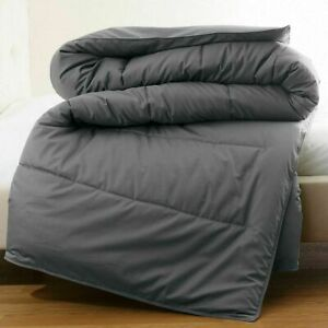 300 GSM & 400 GSM Down Alternative Comforter 1000 Count Solid Color & Size