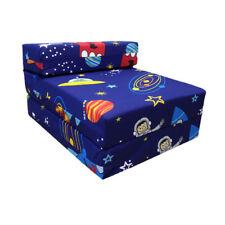 Children S Z Bed Fold Out Chair E Boy Planets Rocket Mattress Sleepover Kids