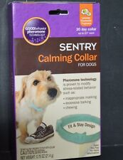 SENTRY CALMING COLLAR FOR DOGS, 30 DAY COLLAR UP TO 23 INCHES ( 0.75 OZ) PHEROMO