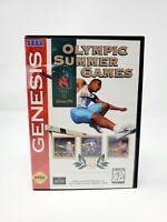Olympic Summer Games Atlanta 96 (sega genesis) Complete CIB