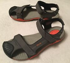 Teva Toachi Gray/Orange Sport Sandals Size 5