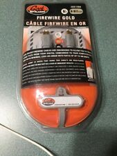 Brand New Geek Squad 6' FT IEEE1394 Firewire Gold Cables With 6-6 Pin  GS-6FW66