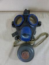 #AZ41 - Wehrmacht Gasmaske GM38 bmw44 Gr.2 Gummi schwarz mit Filter FE41