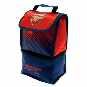 ARSENAL FC Football Adult Kids School Infant Office INSULATED LUNCH BAG Box Fade