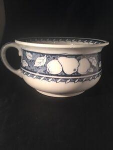 Antique Bed Pan Losol Ware Lansdowne Keeling & Co Burslem Chamber Pot