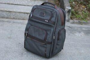 TUMI Alpha 3 T-Pass Business Class Brief Pack Gray (BNWT) | retail $500+