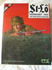 St Lo - Normandy 1944 - The Breakout Begins - West End Games Strategy Wargame