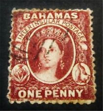 nystamps British Bahamas Stamp # 8 Used $165 J15y2018