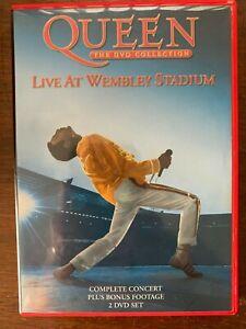 Queen Live at Wembley DVD Classic British Rock Concert 2-Discs
