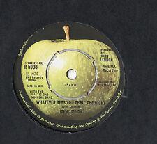 "John Lennon - Whatever Gets You Thru The Night 7"" Single 1974"