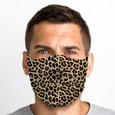 Imprimé Léopard Taille Unique Lavable Réutilisable Respirant Masque Visage De GB