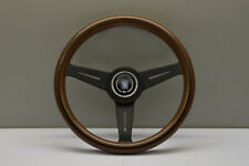 NARDI ND Classic 330MM Wood Black Spoke Steering Wheel - 5061.33.2000
