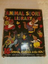 3 SET VTG Children Books Animal story library, Sam'l Gabriel Sons, Dorothea Snow