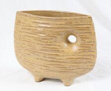 Toyo Japanese Pottery Ikebana Vase Vintage Mid Century Modern Drip Glaze
