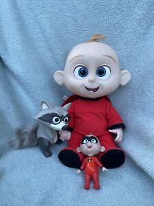 Disney Incredibles 2 - Baby Jack Jack Doll With Raccoon - Lights & Sounds