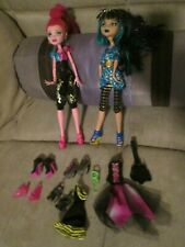 Monster High Dolls - Cleo DeNile and Gigi Grant with some accessories