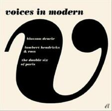 LES DOUBLE SIX/LAMBERT, HENDRICKS & ROSS/BLOSSOM DEARIE - VOICES IN MODERN * USE