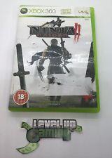 NINJA GAIDEN II (2) Xbox 360 UK PAL **FREE UK POSTAGE**