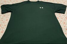 Under Armour Men's Green T-Shirt Size Small In Excellent Condition