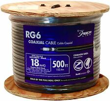 Southwire RG6 Quad Shield CCS Coax 500' ft MADE IN USA ROHS UL LISTED FREESHIP