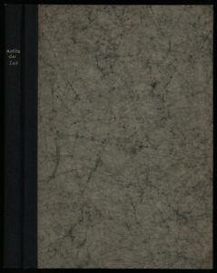 August Sander: Antlitz der Zeit. (1929). Erstausgabe.