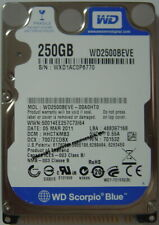 NEW 250GB IDE 44pin 2.5 inch 9.5mm Hard Drive WD WD2500BEVE Free USA Shipping