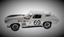 1 1967 corvette RACER Chevy deporte 18 Coche De Carreras Vintage 24 CAROUSEL