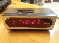 COPAL CO., LTD. MODEL:  LG-710 TYPE VOLTAGE 120V AC 7W RED LED ALARM TIME CLOCK