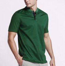 Nike Lab/Court Mens X RF Roger Federer Tennis Green Henley Shirt 3XL 826885-302