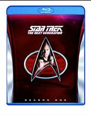 STAR TREK: THE NEXT GENERATION - SEASON 1 6-Disc Region-Free Blu-ray BNIB SEALED