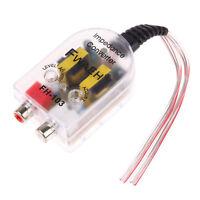 Convertitore segnale audio alta a bassa impedenza RCA stereo auto amplificatore