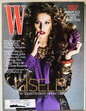GISELE COVER W Magazine July 2007! Photos By Michael Thompson! Inside Photos!